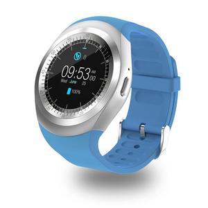 Image 4 - 696 Bluetooth Chiamata di Telefono di GSM Sim Y1 Astuto Della Vigilanza Relogio Android SmartWatch Remote Camera per bambini Intelligente orologio di Sport Pedometro