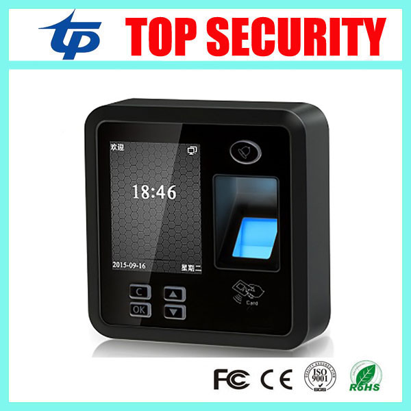 все цены на  Free shipping biometric fingerprint time attendance and access control system TCP/IP fingerprint reader with free software  онлайн