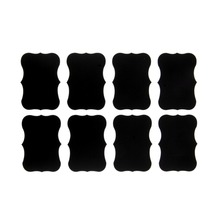 72Pcs Vinyl Chalkboard Label Stickers,Blackboard ChalkBoard Stickers Jar Labels kitchen Organizing Chalkboard Stickers Decor