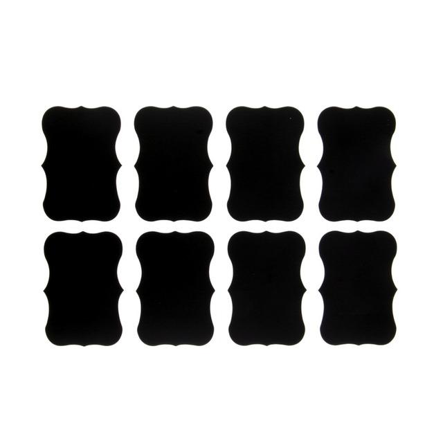 72Pcs Vinyl Chalkboard Label Stickers,Blackboard ChalkBoard Stickers Jar Labels kitchen Organizing Chalkboard Stickers Decor