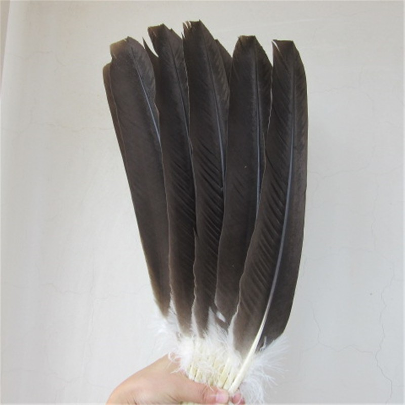 wholesale 100pcs quality natural eagle feathers 37 50cm Pheasant feather diy stage performance Jewelry crafts decoration