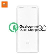 Original Xiaomi Power Bank 20000mAh 2C Quick Charge QC 3.0 Dual USB Ports Mi Powerbank Ext