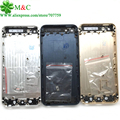 5S 5G Housing Back Battery Cover For iPhone 5 5G 5S Middle Frame Battery Back Housing Print imei Number With Tracking