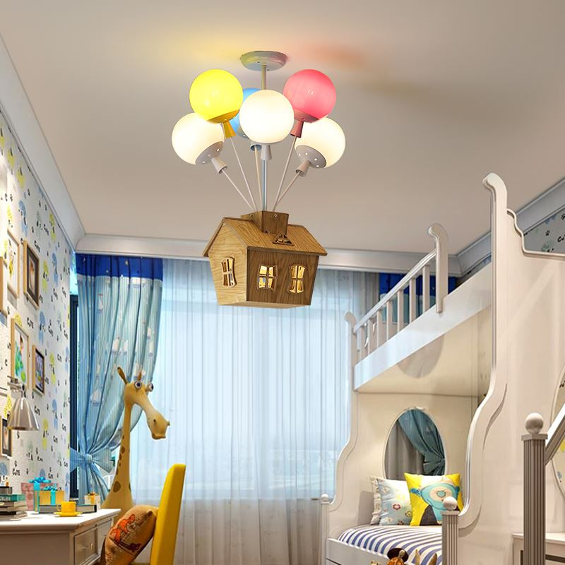 Modern Led Chandeliers Dining Room Bedroom Fixtures Overhead Restaurant Living Room Childrens Room Simple Chandelier Lamp