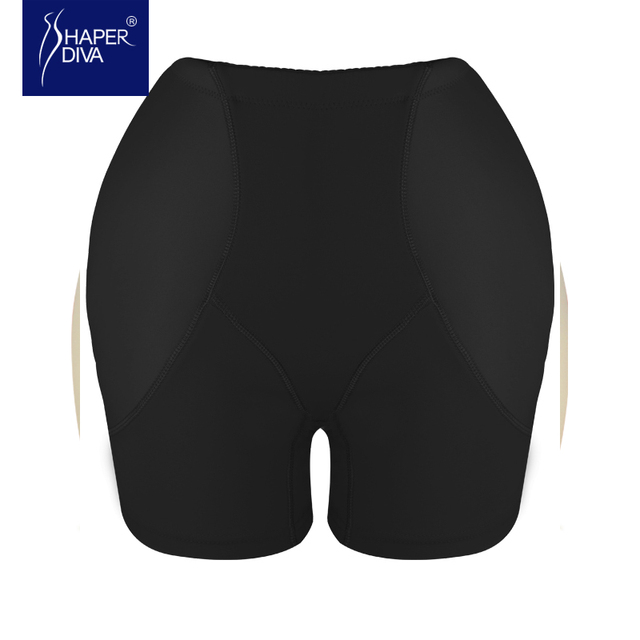 Mulheres Shaper Controle Calcinhas de Levantamento de Bumbum Hip Potenciador com acolchoado Espólio Levantador Controle Coxa Slimming Bundas Lifter
