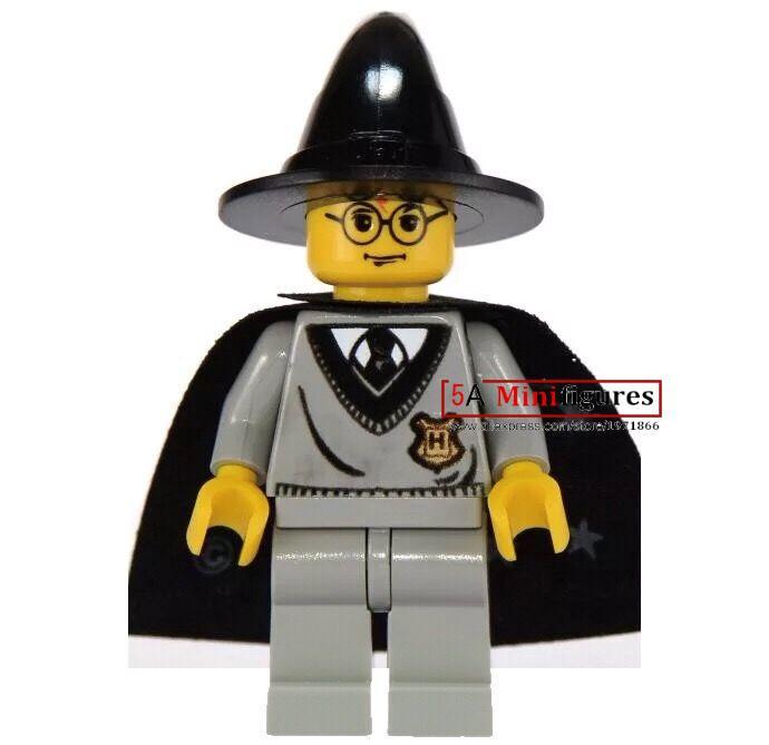 Single sale one piece <font><b>Harry</b></font> <font><b>Potter</b></font> <font><b>and</b></font> <font><b>the</b></font> <font><b>Chamber</b></font> <font><b>of</b></font> <font><b>Secrets</b></font> Minifigures building blocks baby kid toys action figure