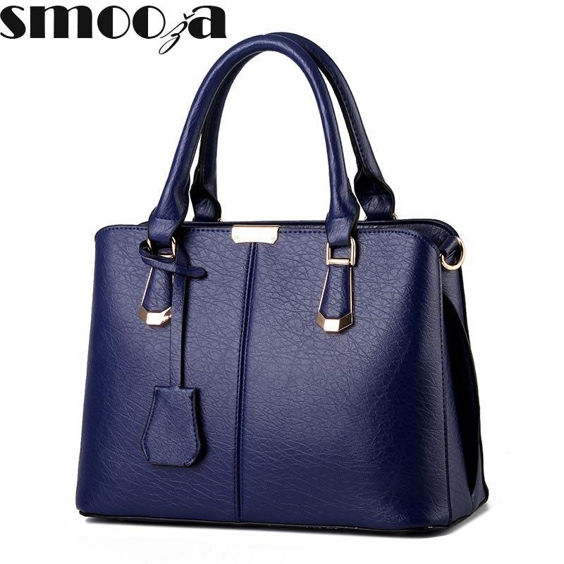 7a57b1ab88d SMOOZA 2018 Large Soft Leather Bag Women Handbags Ladies Crossbody Bags For Women  Shoulder Bags Female Big Tote ...