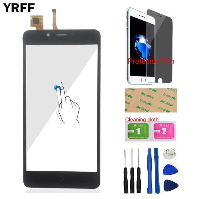 YRFF 5.0 ''נייד מגע פנל קדמי עבור Leagoo Kiicaa כוח מגע מסך Digitizer פנל זכוכית לן חיישן כלים Protecotr סרט