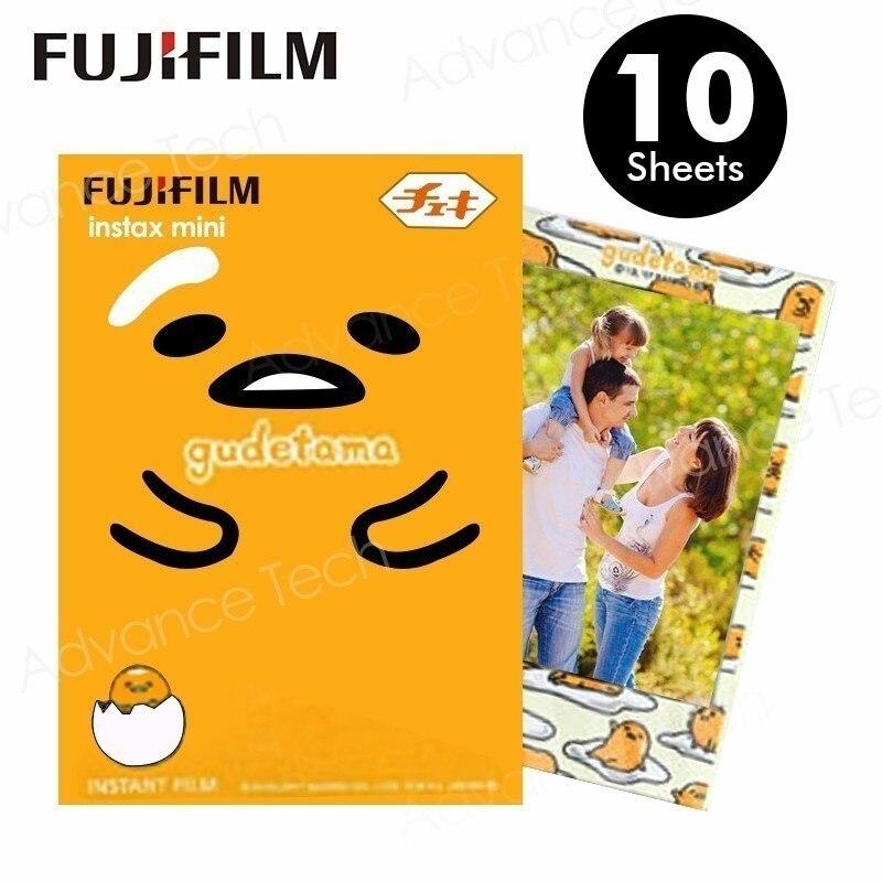Dedicated 2017 Nieuwe Fujifilm Instax Mini 8 Film Gudetama 10 Vellen Fotopapier Voor Fuji Instant Mini8 7 S 25 50 S 70 90 Camera