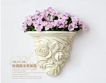 Europe type hanging vases, creative household wall flower pot act the role ofing arrangement