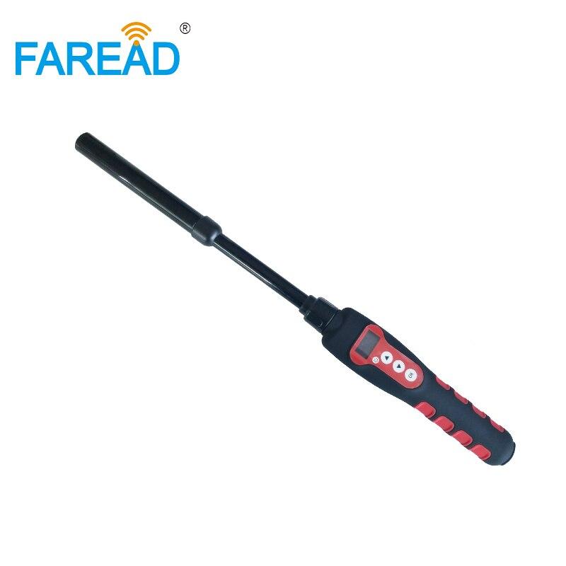 Animaux RFID Bâton Lecteur Étanche Bluetooth et USB scanner portable pour poisson