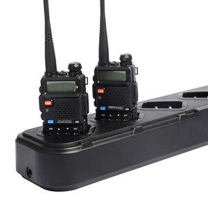 Image 2 - Многократное зарядное устройство для Baofeng UV5R 6 в 1 зарядное устройство для UV 5R