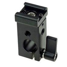 15mm Único Furo Rod Braçadeira com Padrão Sapato Frio Suporte para Rod Rail Grampos/Acessórios Sapato Frio-212