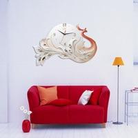 Creative Retro Resin Wall Clock Modern Home Relojes De Pared Simple Fashion Quiet Living Room Clock Decorative Quartz Clock