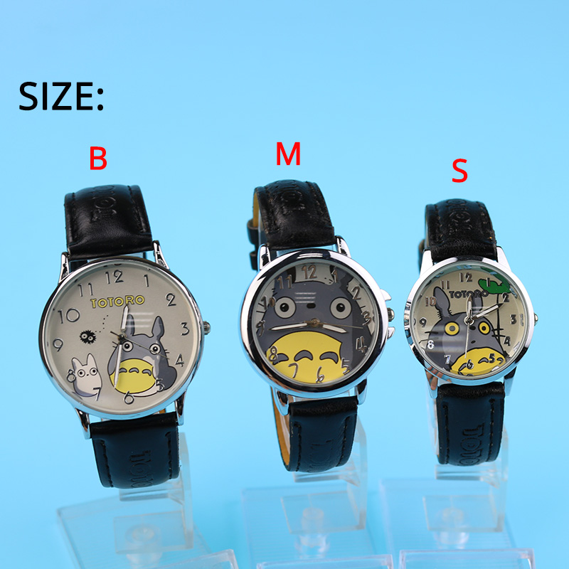 My Neighbor Totoro Women Watches Ladies Japanese Pattern Miyazaki Hayao Comic Fans For Girls Student Watch 3 Size Relojes Clock