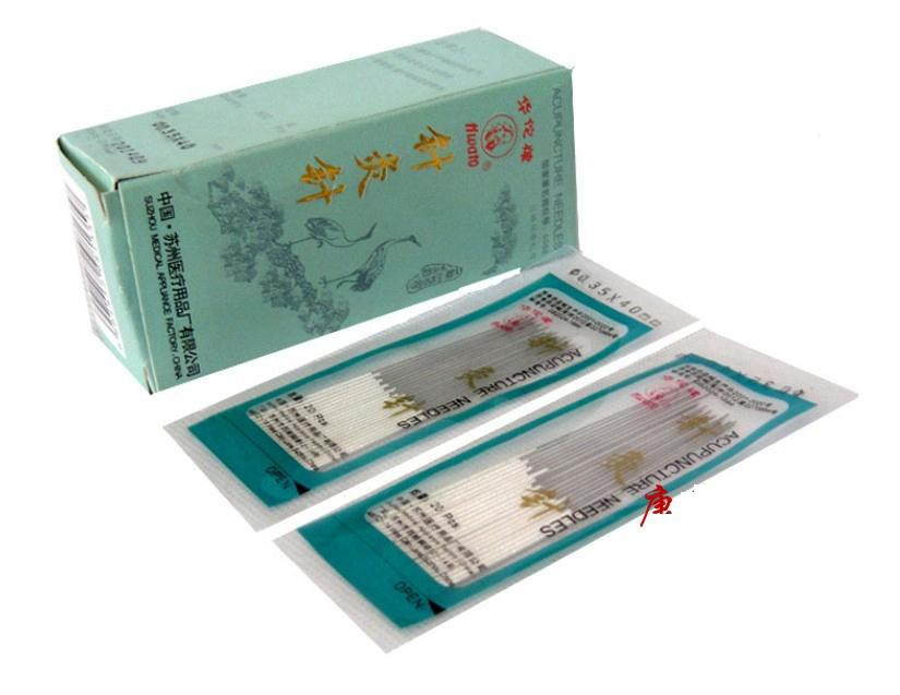 Hua Tuo non - disposable needles Chinese acupuncture Silver needle 20pcs/pack