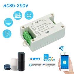 Умный беспроводной переключатель с таймером, 2-канальный, с дистанционным управлением через приложение для телефона, универсальный модуль ...