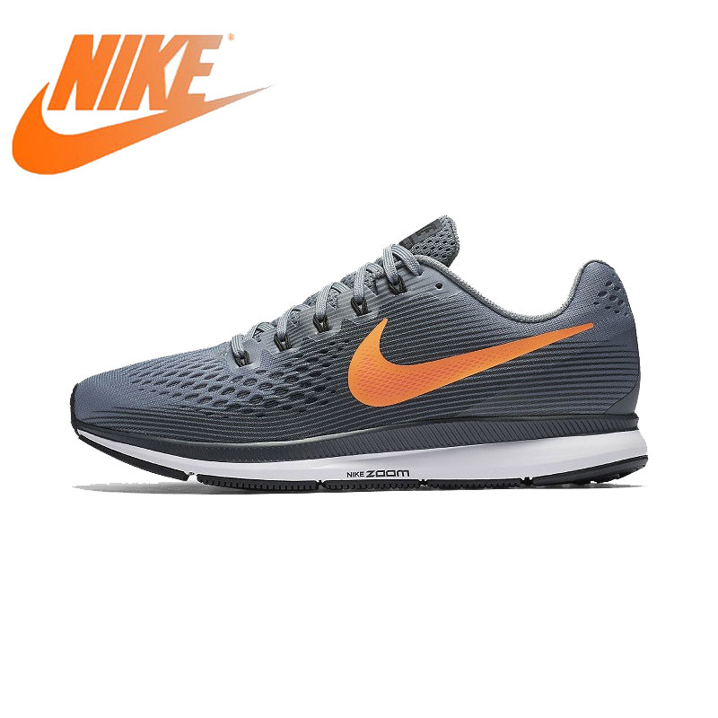 Original Authentic Nike Air Zoom Pegasus 34 Mens Running Shoes Sports Outdoor Breathable Sneakers 2019 New Arrival 880555-403Original Authentic Nike Air Zoom Pegasus 34 Mens Running Shoes Sports Outdoor Breathable Sneakers 2019 New Arrival 880555-403
