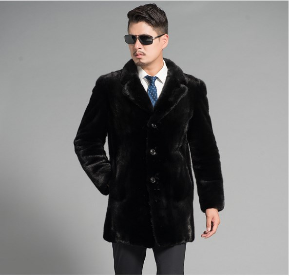 Gut Ausgebildete S-6xl Plus Größe Hohe Qualität Vintage Schwarz Mantel 2019 Männer Dicke Warme Faux Pelzmantel Luxus Lange Faux Pelz Mantel Outwear Fw141 Kunstpelzmäntel
