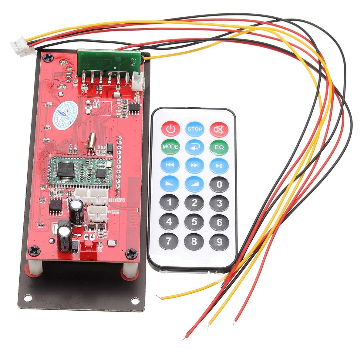 Leory Professional Wireless Bluetooth 40 Mp3 Decoder Board Dac Wiring Bee Audio Module 12v Ape Flac Wma Wav App Control For Car In Digital To Analog Converter