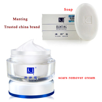 2 China Scar Removal ManTing Cream Manting Soap Mite Bug Busters Face Care Acne Treatment Scars