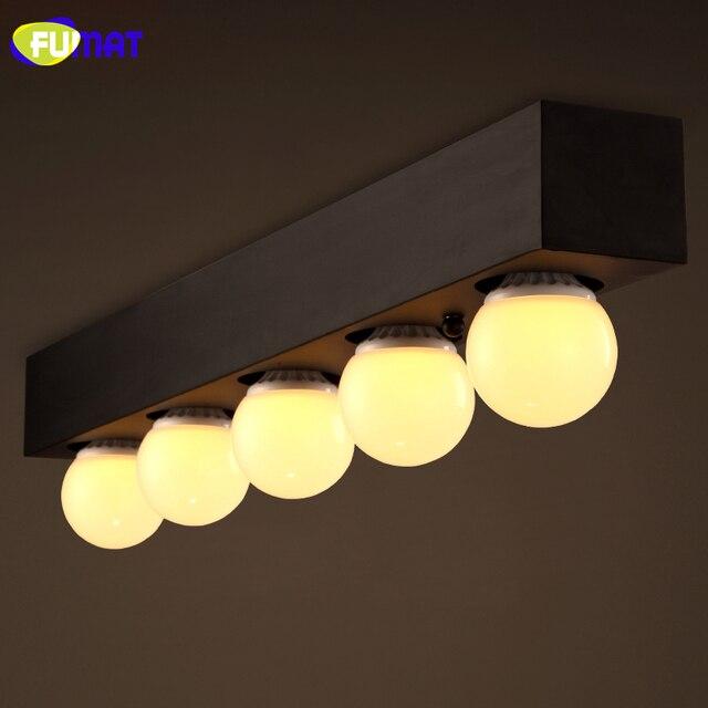 FUMAT LOFT Ceiling Lamp Modern Minimalist Ceiling Light For Dinning Room Bar Vintage Decor Lamp Edison Bulb Ceiling Lamps