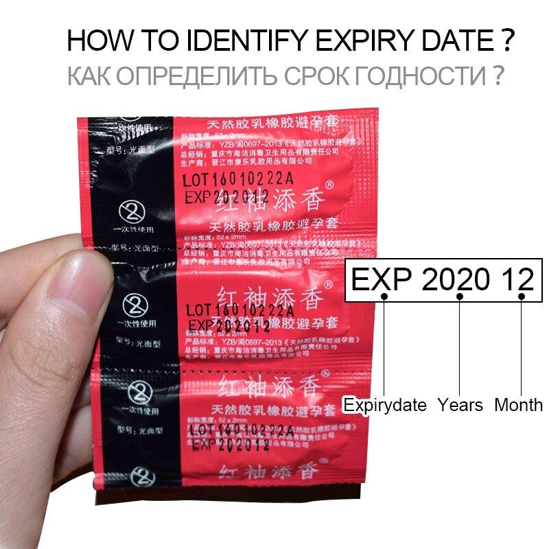 En gros 100 PCS Préservatifs Ultra Mince Grande Quantité D'huile de Sexe outil produits pour Hommes paquet préservatif Adulte livraison gratuite 3