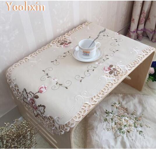 cm caliente bordado mantel olla taza taza titular de montaa cocina mesa de comedor mantel de encaje bebida