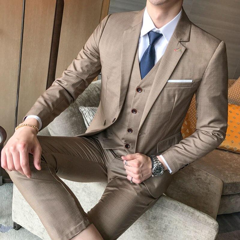 Banquet Gentleman Dress Up Male Fashion Business Hot Sales Slim Comfort DRESS 5