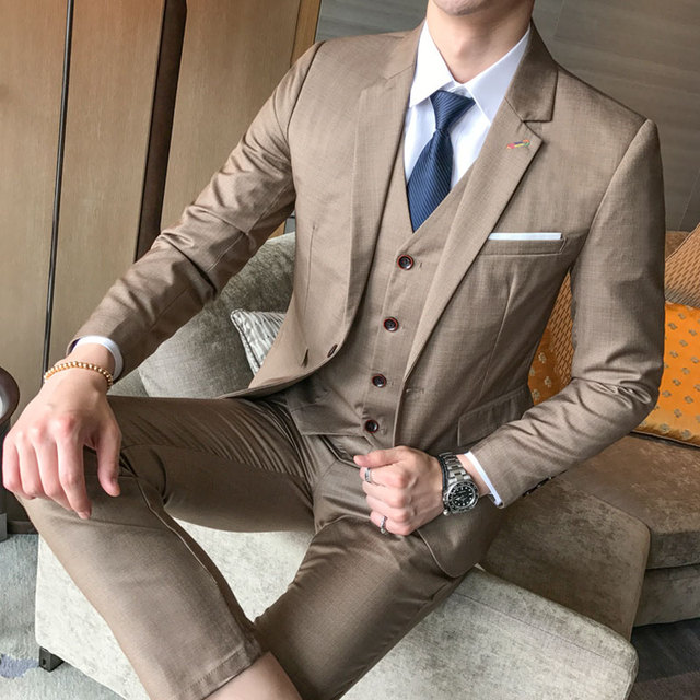 Banquet Gentleman Dress Up Male Fashion Business Hot Sales Slim Comfort DRESS 5