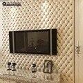 Grande Parede 3D Imitação de Couro veia 10 m rolo de papel de parede para paredes, sala de papel de parede 3d, sala papel de parede rolo 3d