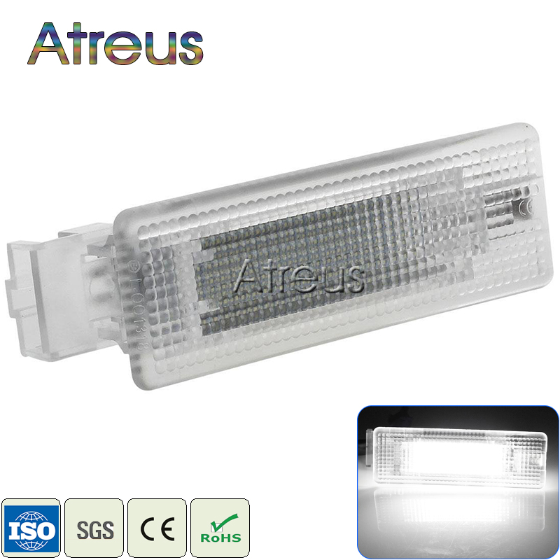 Atreus 1X LED Luggage Compartment Lights For Volkswagen VW Polo Passat B6 CC Golf Mk4 Mk5 Mk6 Mk7 Plus Jetta Tiguan accessories