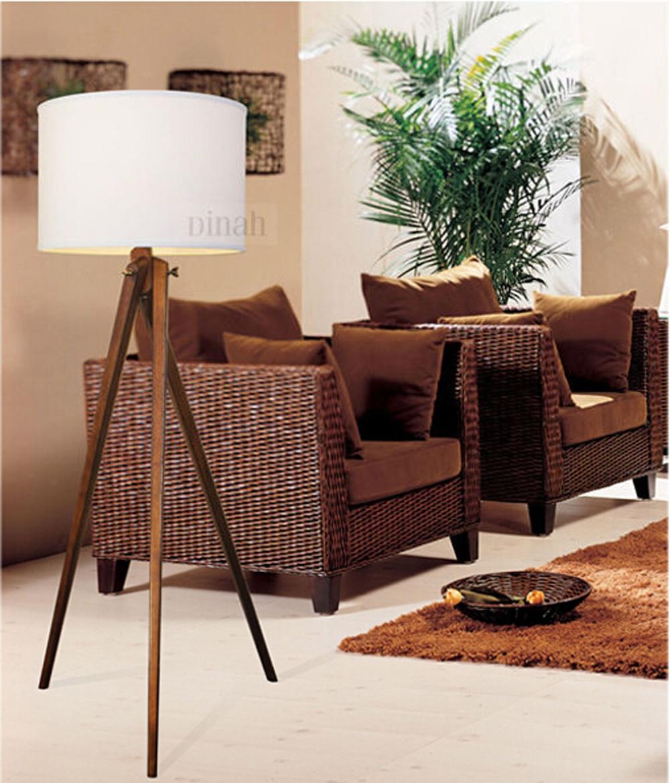 home goods decorative wooden floor lamps copper tripod floor lamp. Black Bedroom Furniture Sets. Home Design Ideas