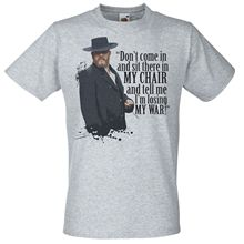 Grey Alfie Soloman Quote T-Shirt Peaky Blinders Camden Town Gang TShirt Print T Shirt Mens Short Sleeve Hot