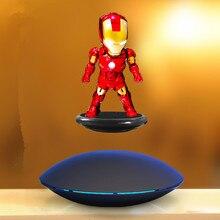 Железный человек МК Магнитный Плавающий ver. С светодиодный светильник Железный человек фигурка коллекционная игрушка 3 цвета Магнитная подвеска Железный человек