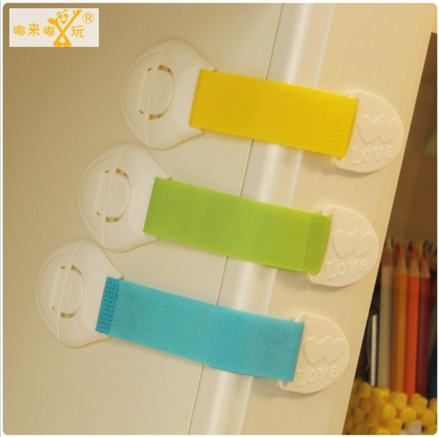 4 Pcs/Lot Baby Safety Cabinet Lock For Child Kids Drawer Door Locks Cabinet Cupboard Plastic Safety Locks Products 2018 New