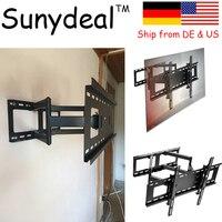 Articulating Curved Panel TV Wall Bracket Suitable Size 32'' 65'' VESA 500x400mm TV Holder Tv soporte de pared TV Mount Stand