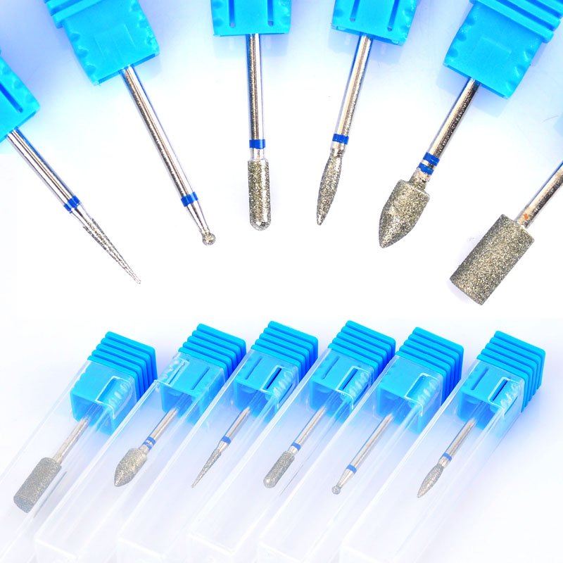 Hot Ceramic Nail Drill Bit For Electric Manicure Machine Accessories Nail Art Tools Electric Manicure Cutter Nail Files