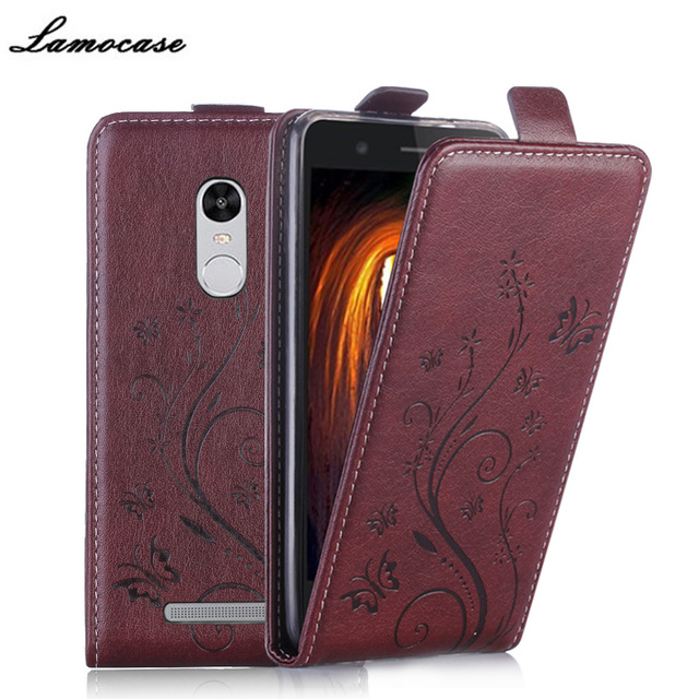 For Hongmi Note 3 Cover Filp Vertical Case For Xiaomi Redmi Hongmi Note 3 Pro / Redmi Note 3 Pro Prime Embossing Leather Case
