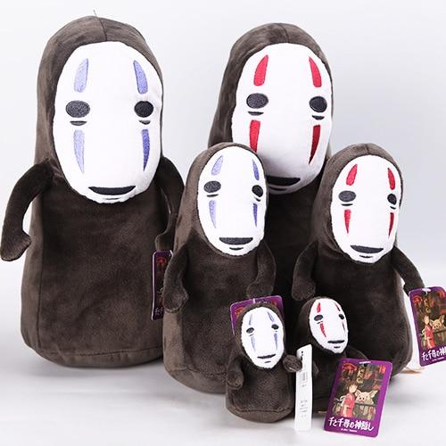 Obedient Spirited Away No Face Man Cute Girl Xiaomei Action Toy Figures Studio Ghibli Hayao Miyazaki Kaonashi Resin Collection Model Doll Low Price Toys & Hobbies