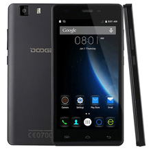 Original doogee x5 android 5.1 mtk6580 quad core smartphone 5.0 hd 1280*720 3G Dual Sim Double Veille 1G RAM 8G ROM Mobile téléphone