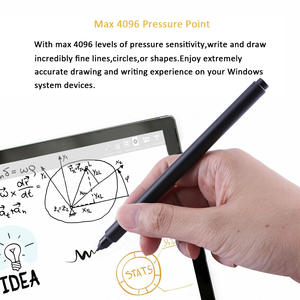 Stylus-Pen Microsoft-Surface Black Aluminium New for Go-Pro 5/4/3/book 142mm Wireless