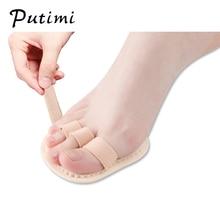 Putimi 1PCS Forefoot Pads Finger Toes Separator Straightener