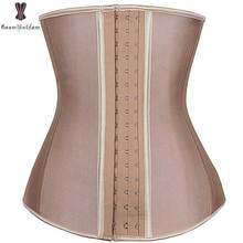9 стальных косточек, латексный корсет для талии, Женский корсет, бюстье под грудью, женская верхняя одежда, корсет для потери веса, тренажер для талии, формирователь тела