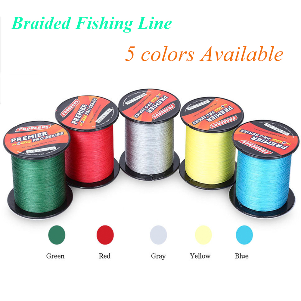 300M PE Multifilament Braided Fishing Line 4 Strands Carp Fishing Rope Cord 6LBS -100LBS Super Strong Fishing Line Rope