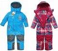 Marca topolino prendas de vestir exteriores, 2015 nuevo invierno ropa de abrigo conjunto, muchacha de los cabritos ropa, niños, ropa esquí para niños niño, 2 - 6 T bebé general