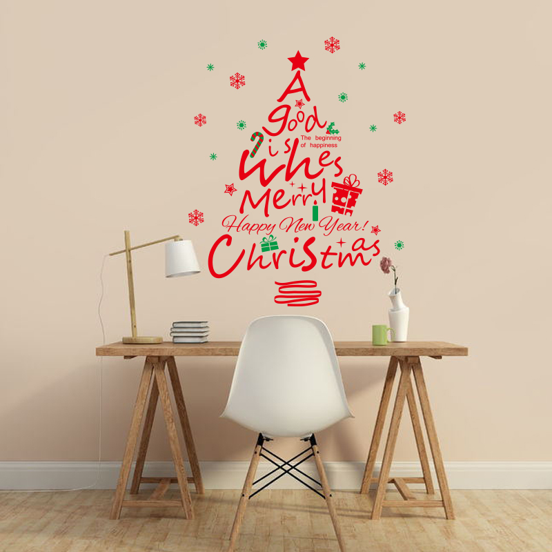 Popular christmas tree mural buy cheap christmas tree for Where can i find cheap home decor