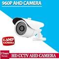 Белый 960 P AHD 1,3-МЕГАПИКСЕЛЬНОЙ 2500TVL Высокое Разрешение 36 шт. LED Водонепроницаемая Камера С ИК-Фильтр AHD CCTV Камеры Системы