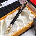 Черный настоящий Picasso 988 авторучка  подарочная ручка в деловом стиле  бесплатная доставка  школьные и офисные принадлежности для письма  0 5 м...