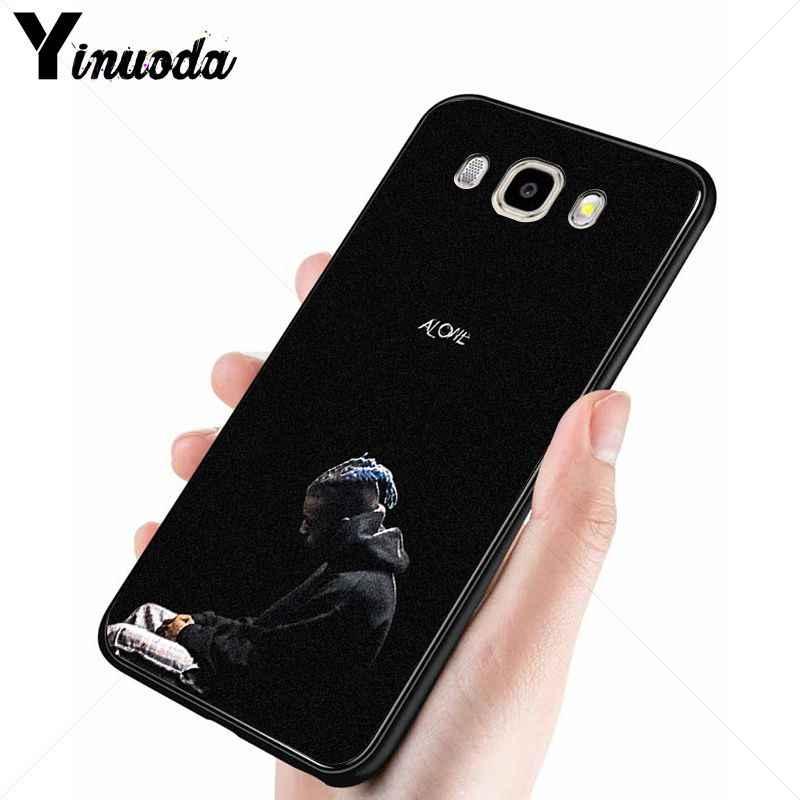 Yinuoda Xxxtentacion โหมดนุ่มซิลิโคน TPU ฝาครอบโทรศัพท์สำหรับ Samsung Galaxy j6plus j7 prime j8 j2 prime j4plus 2018 ฝาครอบ